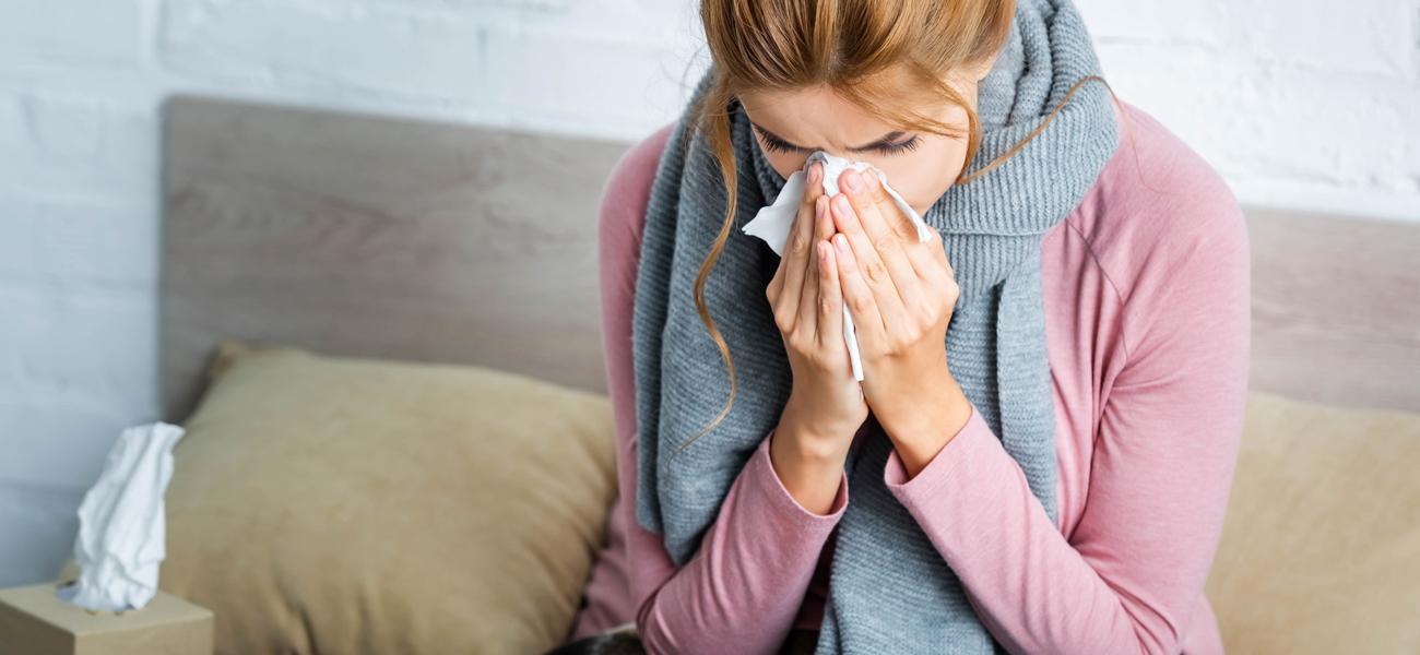 Первые признаки ослабления иммунитета